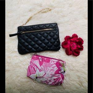 Express Clutch & Makeup Bag Set - 2ct